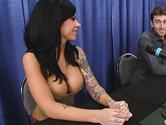 Mason Moore signs the anal contract