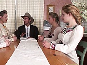 Polygamist at an interview