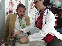 Scott Nails gets sent to Jessica Jaymes a school nurse