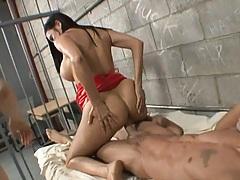 Amaizing reverse cowgirl anal humping