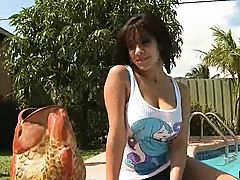 Busty teen Vanessa and Shanes monster cock