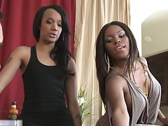 Two housewives are bored with husbands tiny dicks