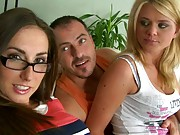 Grou pof hto euro sluts getting felt up and naked