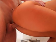 Great ass rammed from the rear and hair pulled