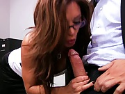 Big tits Francesca Ava and Veronica in group sex