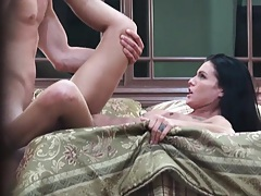 Dude is a pervert filming a couple in their own home