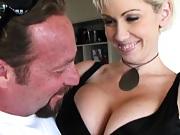 Big tits experienced milf Kaisy a sexy spank