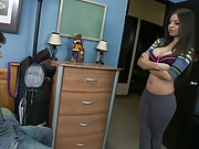 College dorm room Yurizan and her adviser