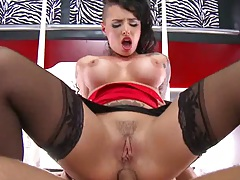 Reverse cowgirl anal hardcore for Christy Mack