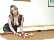 Roasting hot Tristyn Kennedy fondles some balls