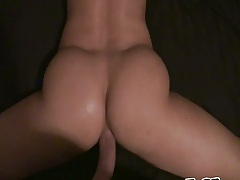 Pov amateur ass doggy style with AleskaD2 anal gaping