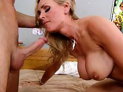 Tanya fucked and sucks what a milf slut