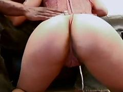 Nice ass fingering Jazmine Cashmere lingerie interracial black cock suck
