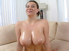 Big natural tits Sara Stone shows her goods