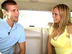 Bree Olsen having a ride around florida